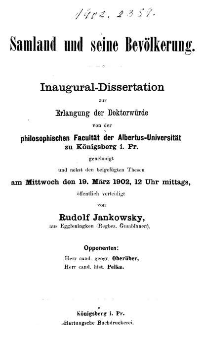 Kant s inaugural dissertation of 177 : Kant, Immanuel, 1724